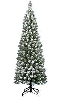 Albero Di Natale Diametro 60.Albero Di Natale Silvestre Floccato 210cm 442rami Amazon It Casa E Cucina