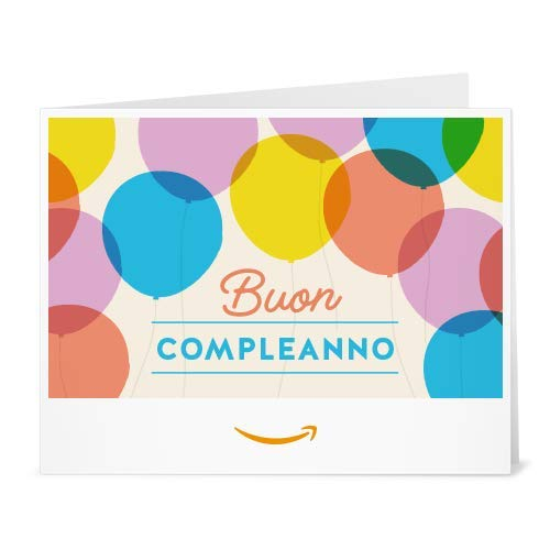 Buono Regalo Amazon.it - Stampa - Palloncini di compleanno