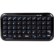 DURAGADGET Mini Teclado Con Bluetooth Para Las Tablets BQ Tesla 2 W10 / W8 | Aquaris E10 - ¡Escriba Sus Emails Cómodamente!