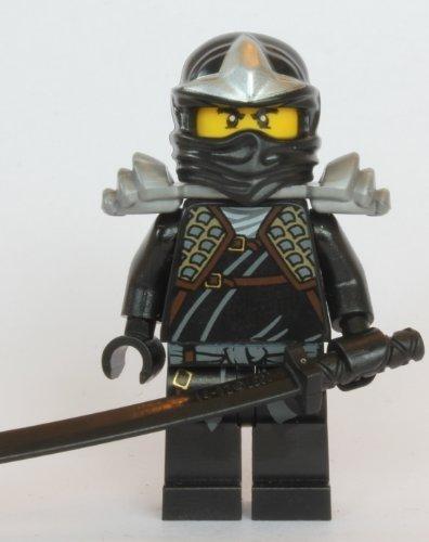 LEGO Ninjago - Minifigur Cole ZX mit Rüstung und Schwert