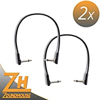 2x Rock Board Flat Patch Cable 30cm–Cavo patch
