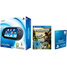Sony PlayStation Vita (3G+WiFi) inkl. Uncharted: Golden Abyss + 16 GB Speicherkarte