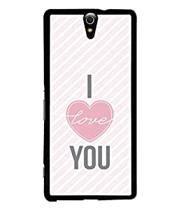 Printvisa Designer Back Case Cover for Sony Xperia C5 Ultra Dual :: Sony Xperia C5 E5533 E5563 (Lines Stripes Strips Diagonal Heart)