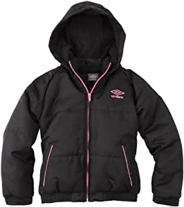 Umbro World Blouson fille Mica/Rose FR : 16-18 ans (Taille Fabricant : 174)