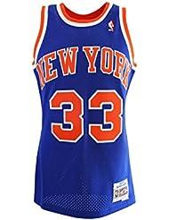 Mitchell & Ness Patrick Ewing # 33New York Knicks 1991–92swingman NBA Maillot Bleu