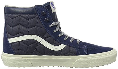 Vans M ISO 2, High-Top Sneakers, Homme Bleu