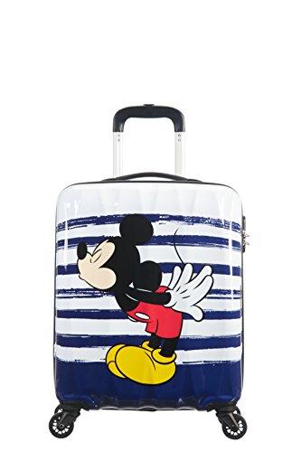 American Tourister Disney Legends - Spinner 55/20 Alfatwist 2.0 - 2.6 kg Kindergepäck, 36 Liter, Mickey Kiss
