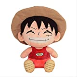 Rufy One Piece Cartoon Anime Peluche Bambola regalo 25cm