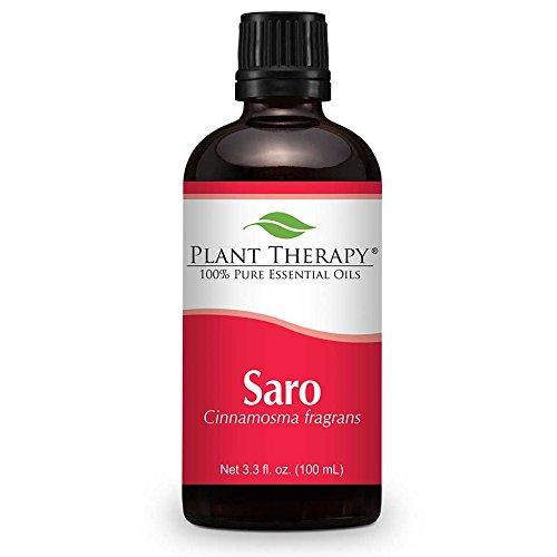 Saro 100 ml Huile essentielle 100% pure, non diluée, thérapeutique année