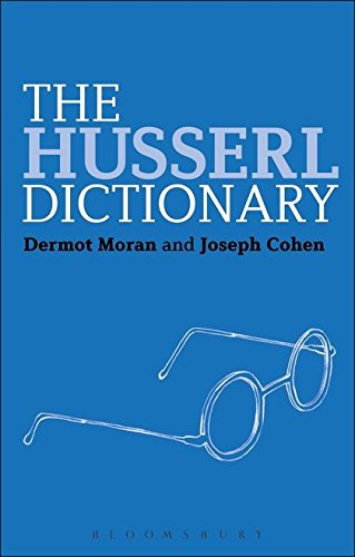 The Husserl Dictionary Cover Image