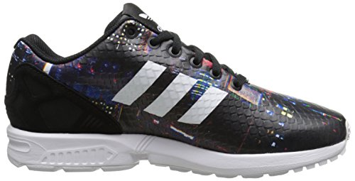 Adidas Womens ZX Flux Leather Trainers Multicolore