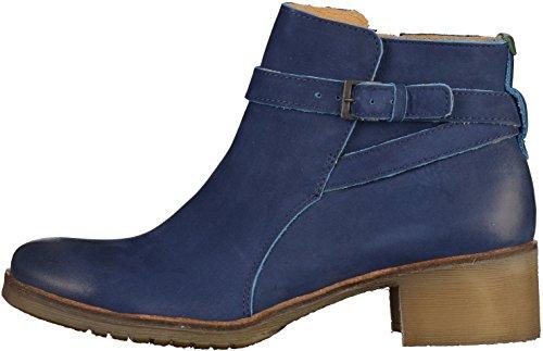 Kickers Mila, Bottines Classiques Femme Bleu (marine Trche Bleue)