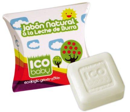 Ico Baby Jabón Natural De Leche De Burra 25 Gr