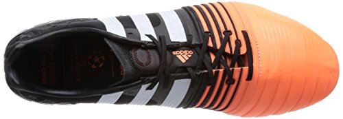 adidas Nitrocharge 1 FG, Herren Fußballschuhe Mehrfarbig (Core Black/Ftwr White/Flash Orange S15)