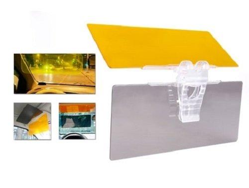 DAY & NIGHT VISOR - perfekter Sonnenschutz während der Fahrt - höhere Sicherheit durch Abblendschutz