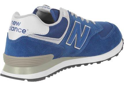 New Balance Ml574, Herren Sneakers Blue