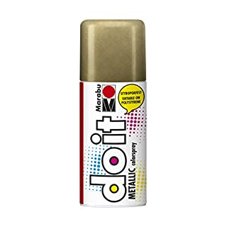 Marabu 21074006784 - Do it Colorspray Metallic, 150 ml, metallic Gold