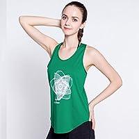 Camiseta De Entrenamiento Gimnasia Yoga Para Mujer Con Ajuste Holgado Activewear Camiseta De Entrenamiento Atlético Relajada Para Uso Deportivo Y Blando,Green,L