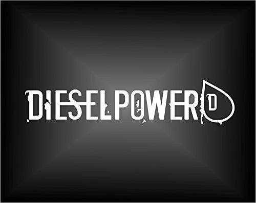 Aufkleber Diesel Power 20x4,5cm