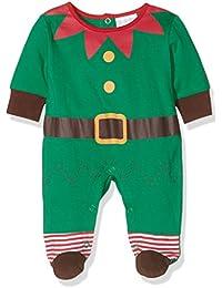 Twins Unisex Baby Strampler Weihnachtself