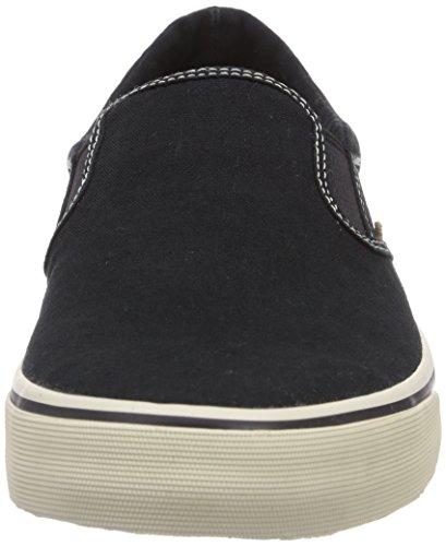 JACK & JONES JJSurf Cotton Loafer Pirate Black Herren Sneakers Grau (Pirate Black)