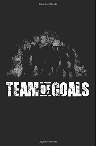 Team Of Goals: Notebook Blank por My Lined Journal