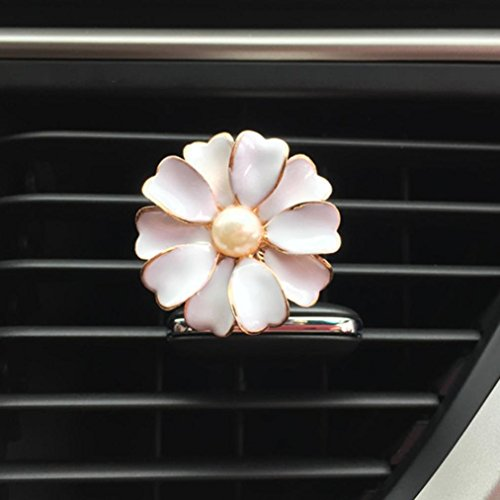IGEMY auto Multiflora fiore clip di uscita aria profumo profumato deodorante diffusore d' aria auto profumatore Whit