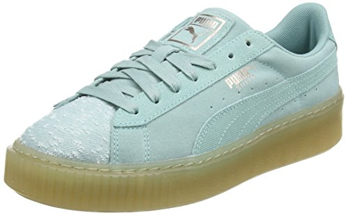 Vert Femme Piattaforma Acquifera falda Ghiaia Camoscio Wns Bassi Puma Sneakers v1Zwq7