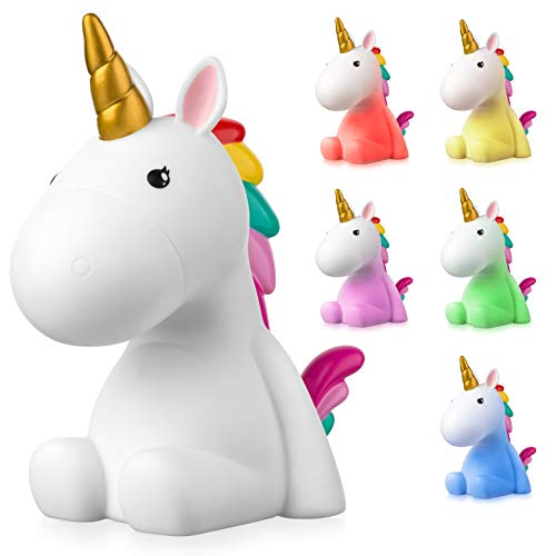 Sweet Ponies LED Nachtlicht Einhorn