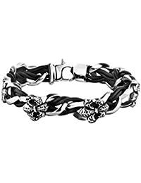 Police Men Stainless Steel Chain Bracelet - PJ.25690BLB/01-S