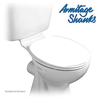 Armitage Shanks S404501 White Orion 3 Toilet Seat and Cover