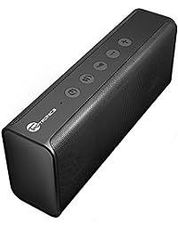 TaoTronics Altavoz Bluetooth portátil inalámbrico con dos pilotos acústicas de alto rendimiento, bajo fuerte,