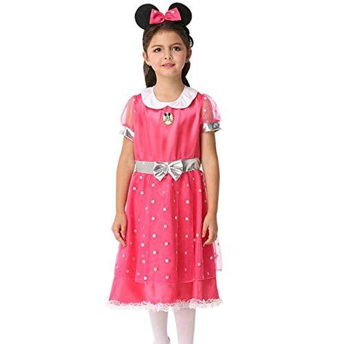 QWE Halloween Kostüm Cosplay Performance Kostüm niedlichen Bogen Kleid Kinder Performance Kostüm