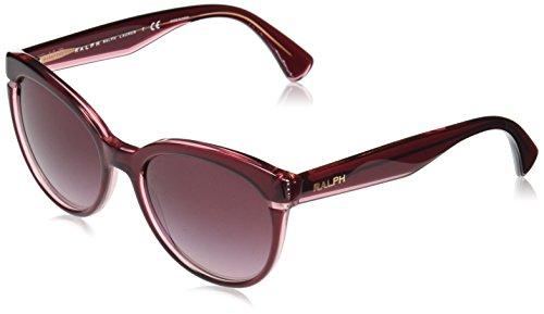 Ralph 0ra5238 16988h, occhiali da sole donna, viola (burgundy violet/burgundygradient), 55