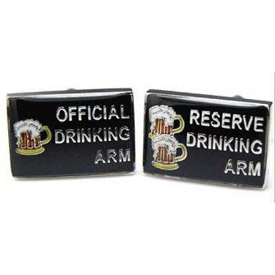 Procuffs Offizielle Trinkarm-Reserve Manschettenknöpfe Bier