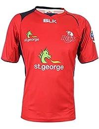 Queensland Reds 2014 - Tshirt d'Entraînement de Rugby Super 15 des Joueurs Rouge