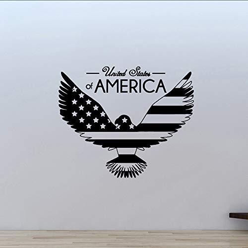 jukunlun Beauty Eagle Home Decoration Zubehör Für Baby Zimmer Vinyl Wandtattoo - Baby Eagle Zubehör