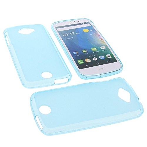 foto-kontor Tasche für Acer Liquid Z530 Liquid M530 Gummi TPU Schutz Hülle Handytasche blau