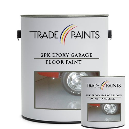 2 Pack Epoxy Garage Floor Paint - 5 litres (Dark Slate Grey BS18B25)