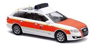 Busch Voitures - BUV49659 - Modélisme Ferroviaire - Audi A6 - Avant Pompiers Dusseldorf