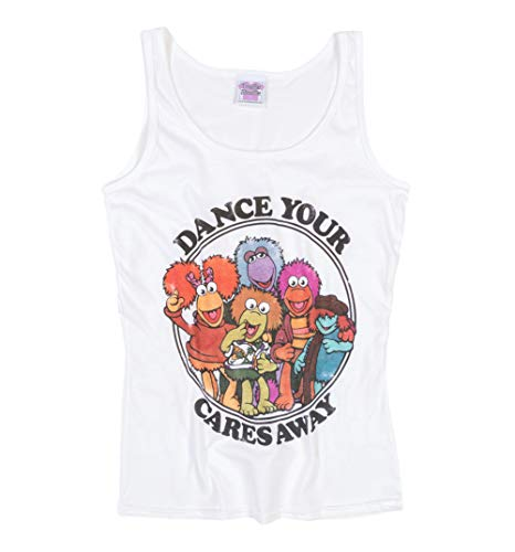 Womens Official Fraggle Rock Dance Your Cares Away Vest. S to XL
