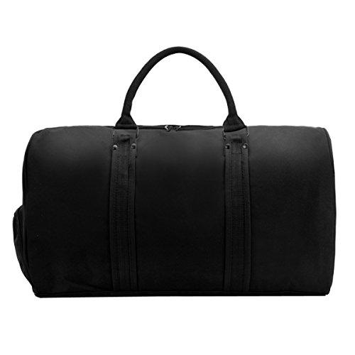 LAIDAYE Hochleistungs-Mobilsporttasche Sporttasche Fitnesstasche Große Kapazität Handtasche Black