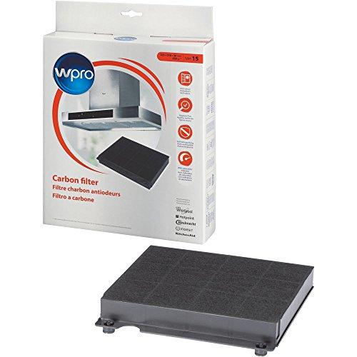 wpro CHF15/1 - Filter für Dunstabzugshauben/Aktivkohlefilter Typ 15 für Umluftbetrieb/antibakteriell/geruchsneutralisierend