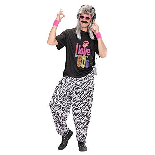Zebra Jogginghose 80er Jahre Trainingshose M/L 48 bis -