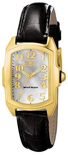 Invicta Damen-Armbanduhr Quarz Analog 13834 (Invicta Uhren Frauen Weiß)