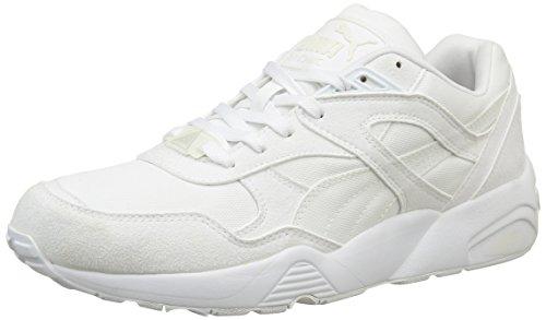 Puma R698, Sneaker Uomo Blanc (White/Vaporous Grey)