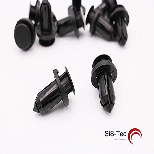 Plastique befestigugs Clips pare-chocs - 0155309241 (Lot de 20)