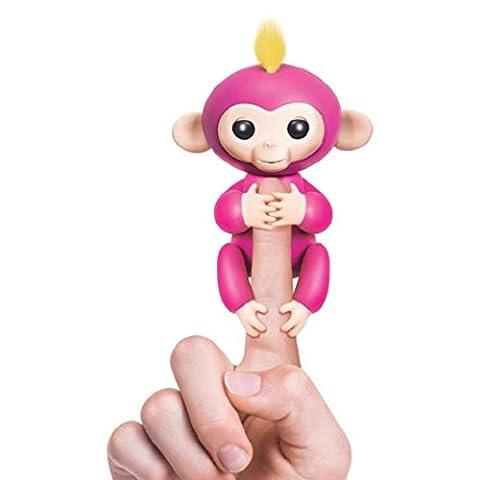 Sonnena Fingerlings Pet Electronic Little Baby Monkey Children Kids Toy (15 x 5.2 x 22.5 cm, Hot