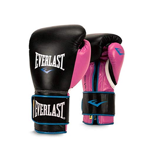 YDS SHOP Schwarz Rosa Boxhandschuhe, Erwachsene Kinder Sanda Training Muay Thai Fighting Boxsandsack Männer Berufsausbildung (12 Unzen-boxhandschuhe Leder)