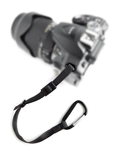 Kamera DSLR SLR Secure Strap (Deutscher HÄNDLER) Karabinerhaken + robustem Nylon Sicherungsseil für Kamergurt Kamera-Schultergurt Trageriemen | MIND CARE ESSENTIALS